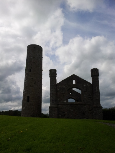 Taghadoe Church and Round Tower, Ireland History,