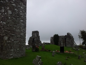 17. Oughterard Round Tower & Church