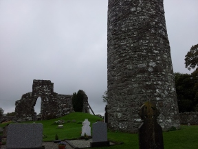 18. Oughterard Round Tower & Church