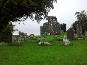 19. Oughterard Round Tower & Church