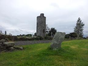 17. Old Kilcullen Round Tower & Graveyard, Co. Kildare