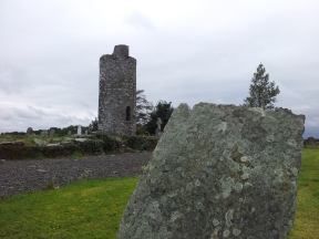 18. Old Kilcullen Round Tower & Graveyard, Co. Kildare