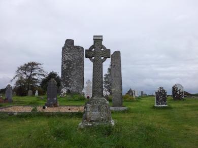 22. Old Kilcullen Round Tower & Graveyard, Co. Kildare