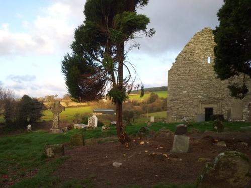 40. Aghowle Church, Co. Wicklow