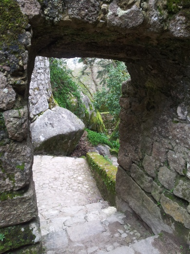 33. Castle of the Moors, Sintra, Portuga