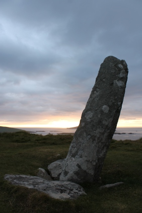 02. Coumeenoole Ogham Stone, Co. Kerry