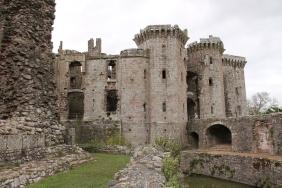 45. Raglan Castle, Monmouthshire, Wales