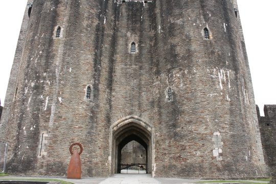 10. Caerphilly Castle, Wales