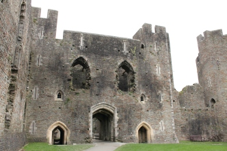14. Caerphilly Castle, Wales