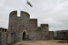 21. Caerphilly Castle, Wales