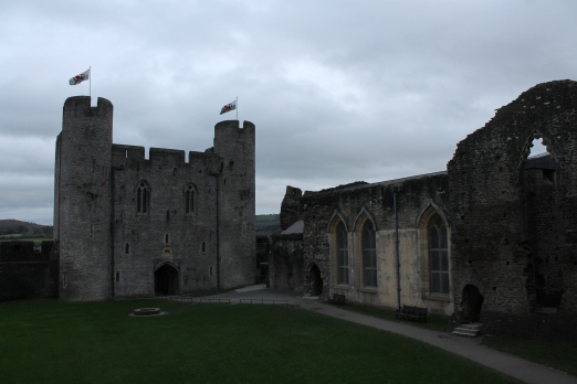 27. Caerphilly Castle, Wales