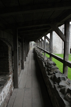 31. Caerphilly Castle, Wales