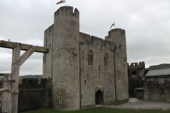 33. Caerphilly Castle, Wales