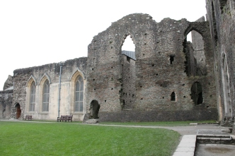 35. Caerphilly Castle, Wales