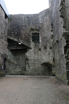 44. Caerphilly Castle, Wales