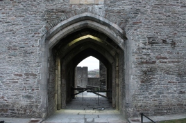 45. Caerphilly Castle, Wales