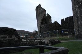 46. Caerphilly Castle, Wales