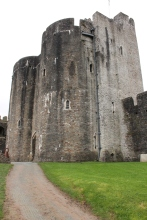 49. Caerphilly Castle, Wales