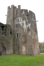 50. Caerphilly Castle, Wales