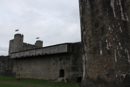 52. Caerphilly Castle, Wales