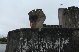 59. Caerphilly Castle, Wales