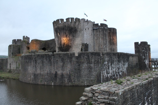 61. Caerphilly Castle, Wales