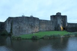 70. Caerphilly Castle, Wales