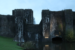 71. Caerphilly Castle, Wales
