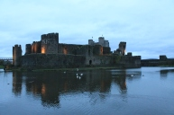 75. Caerphilly Castle, Wales