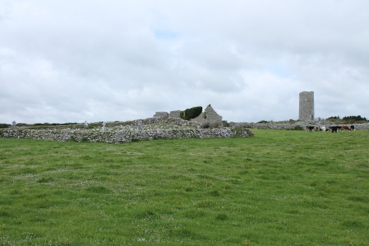 01. Roscam Round Tower & Church, Co. Galway