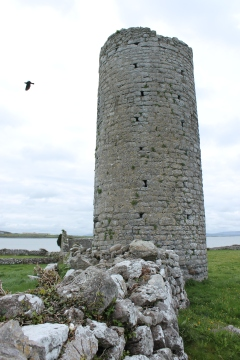 21. Roscam Round Tower & Church, Co. Galway