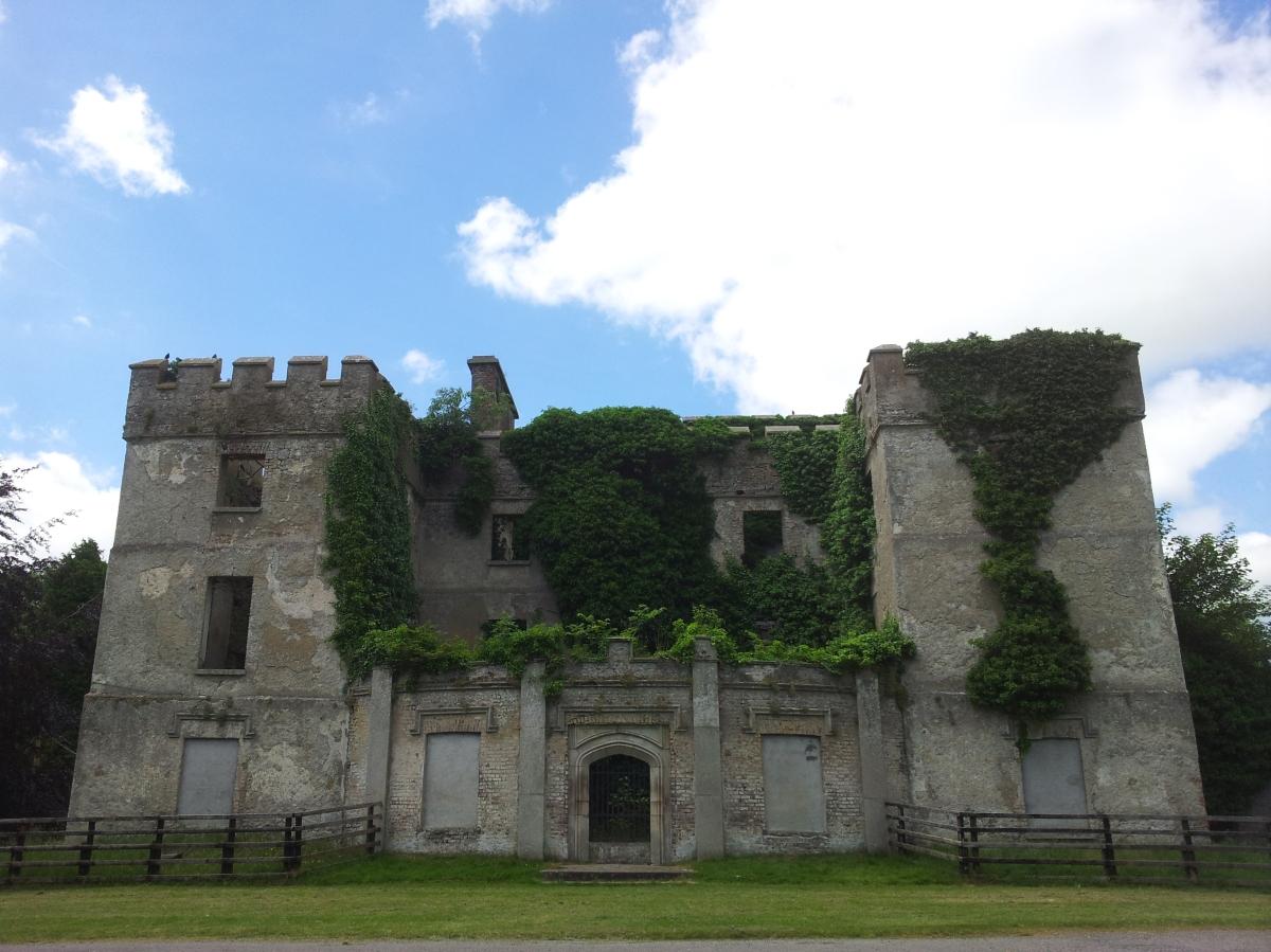 Donadea Castle Kildare Ireland Visions Of The Past