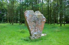 02. Knickeen Ogham Stone, Co. Wicklow