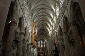 03. Cathedral of St. Michael and St. Gudula, Belgium