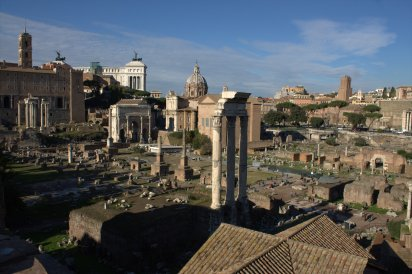 34. Roman Forum, Rome, Italy